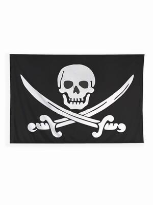 Флаг Пиратский 135х90