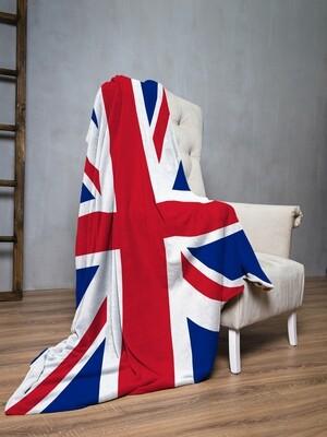 Плед флис Флаг Великобритании