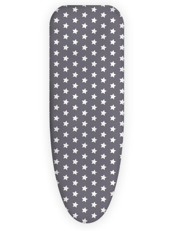Чехол для гладильной доски Звезды серый