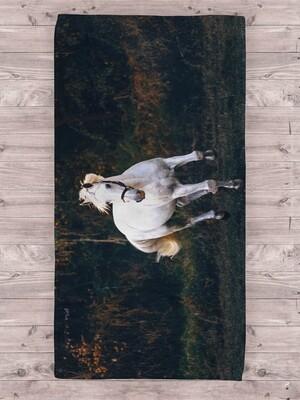 Полотенце с лошадью