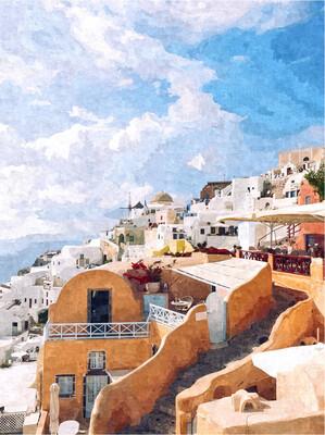 Картина на холсте Медитерана