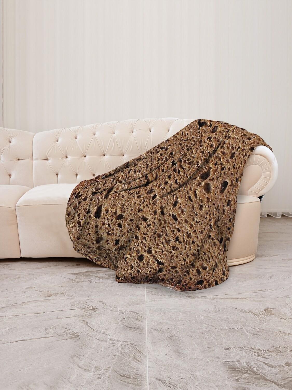 Плед флис Хлеб