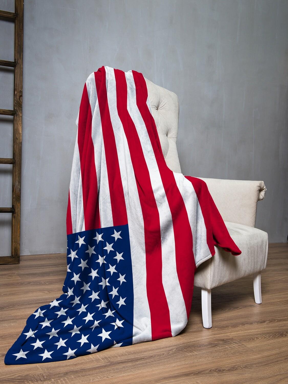 Плед флис Флаг США