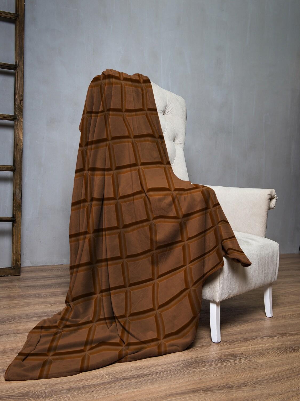 Плед флис Шоколад