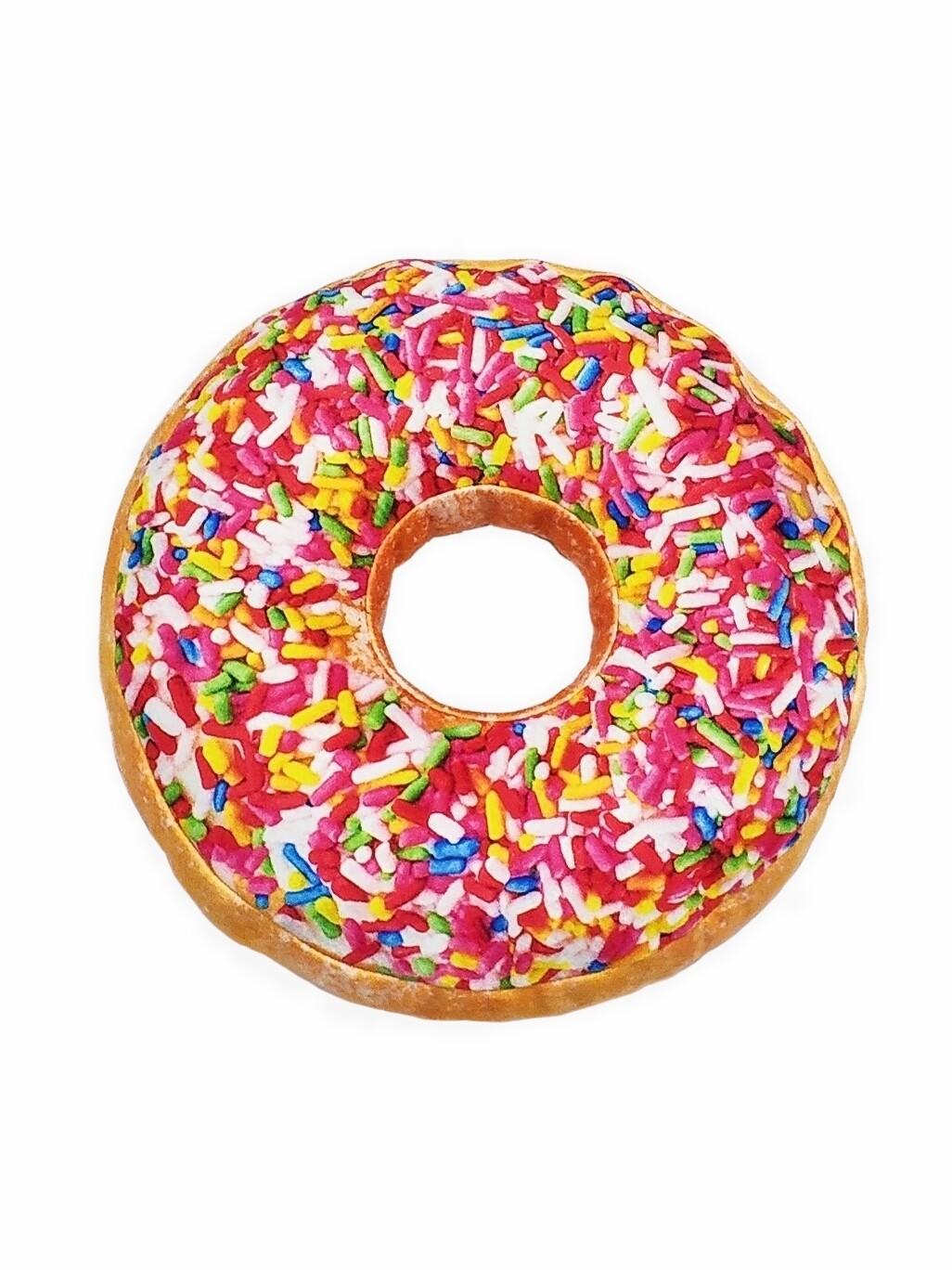 Декоративная подушка Пончик Радужный