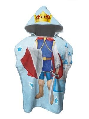 Полотенце пончо детское Принц