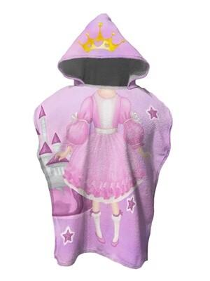 Полотенце пончо детское Принцесса