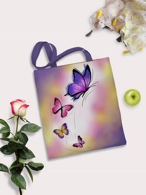 Сумка шоппер Бабочки