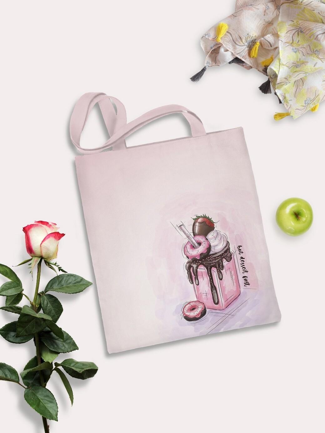 Сумка шоппер Пончики роз