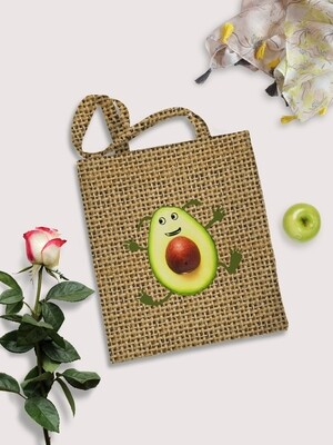 Сумка шоппер Авокадо
