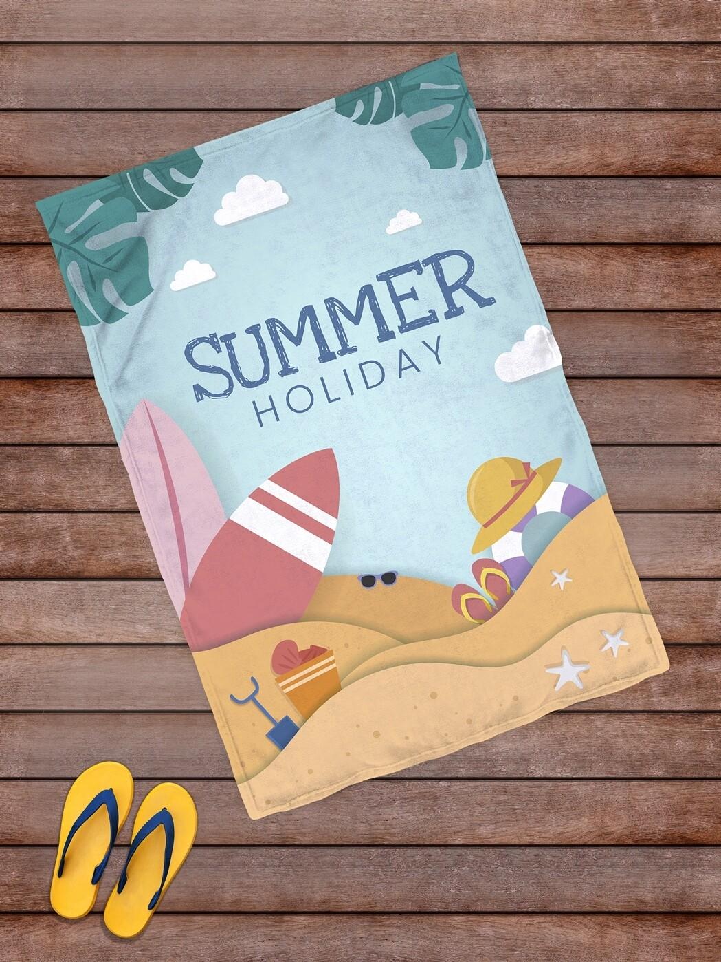 Плед покрывало пляжное/ для пикника 145х100 Summer Holiday