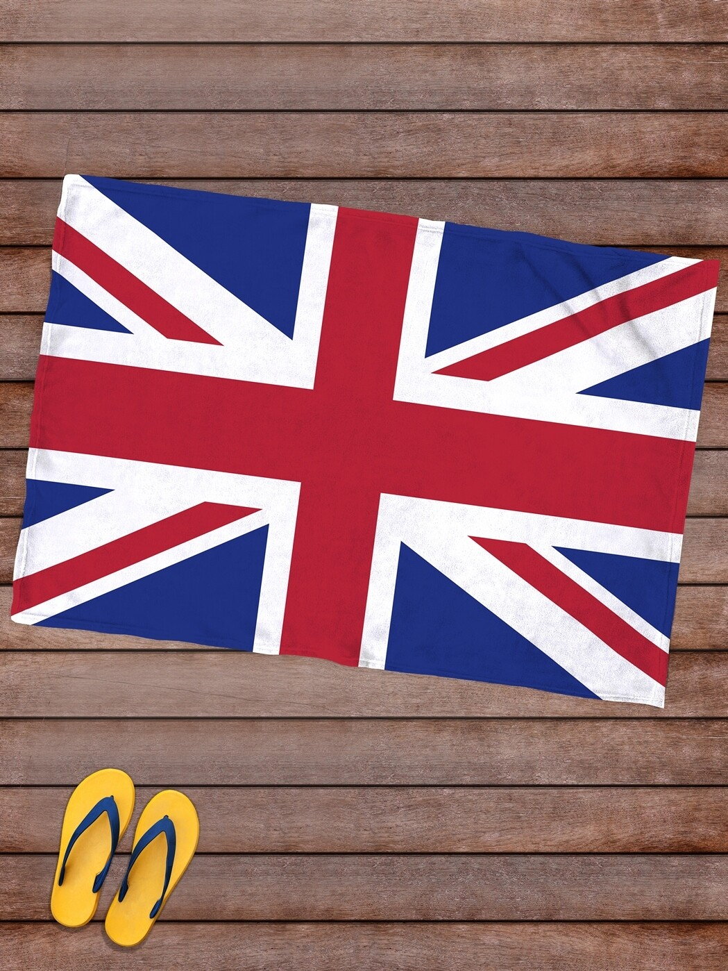 Плед покрывало пляжное/ для пикника 145х100 Флаг Великобритании