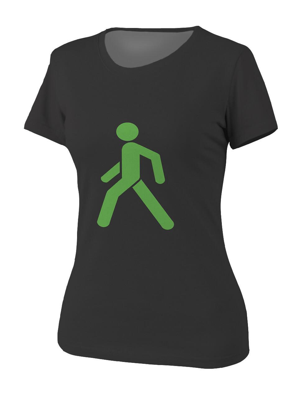 Футболка женская Пешеход