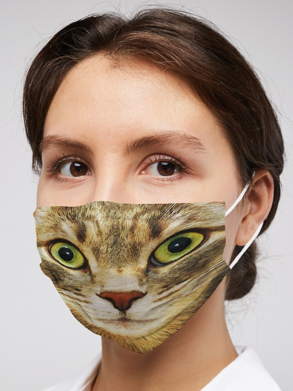Защитная маска Кошка