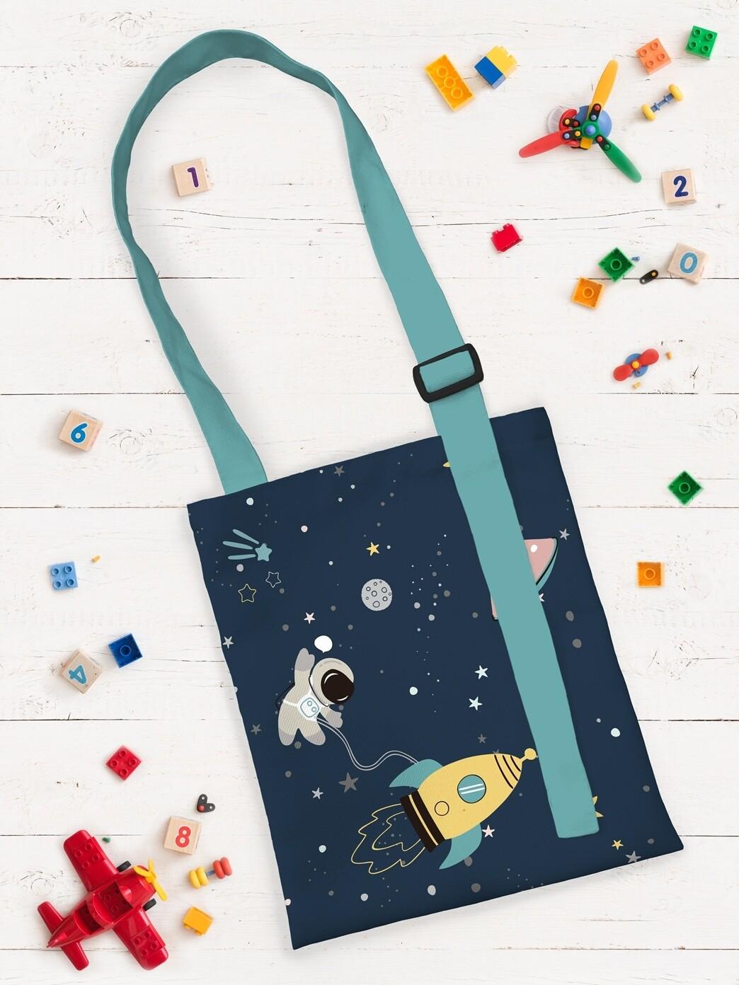 Сумка шоппер детская Космос