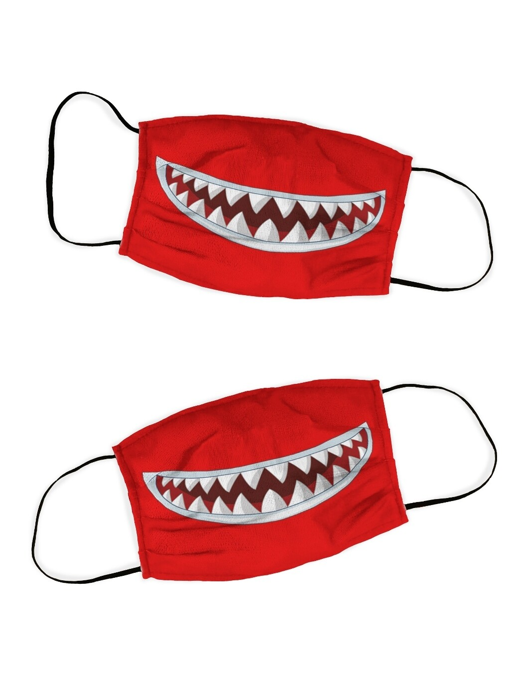 Защитная маска набор 2 шт. Акула