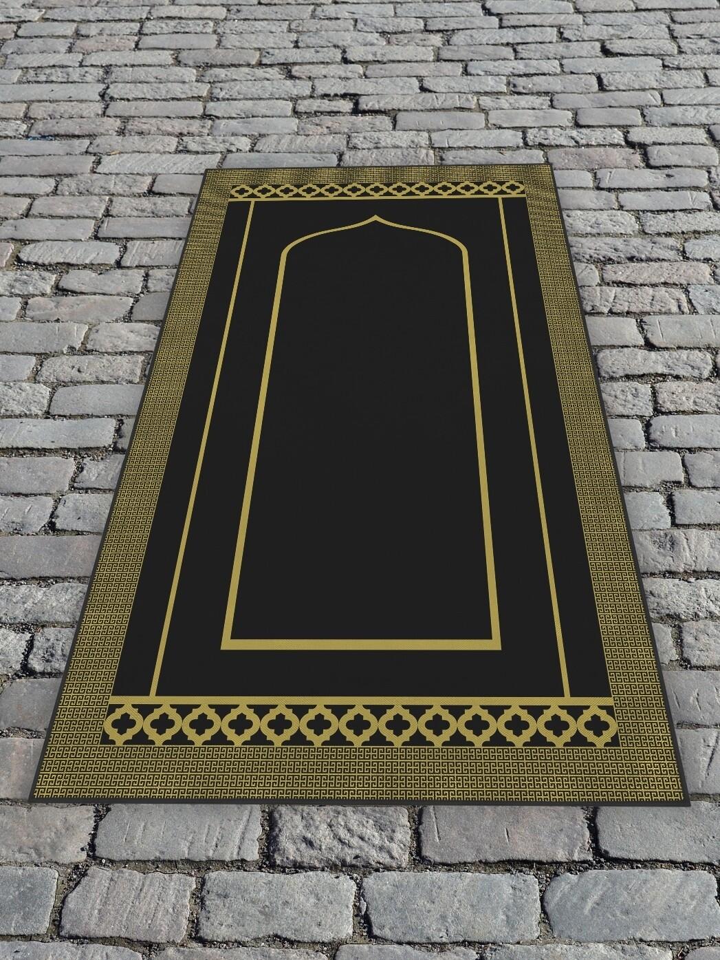 Молельный коврик Черный