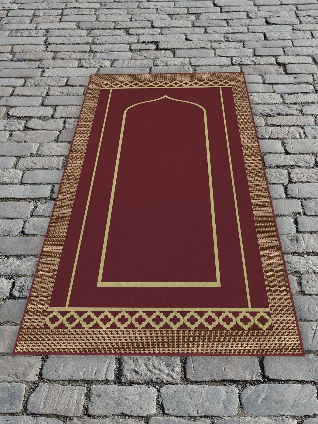 Молельный коврик Бордовый