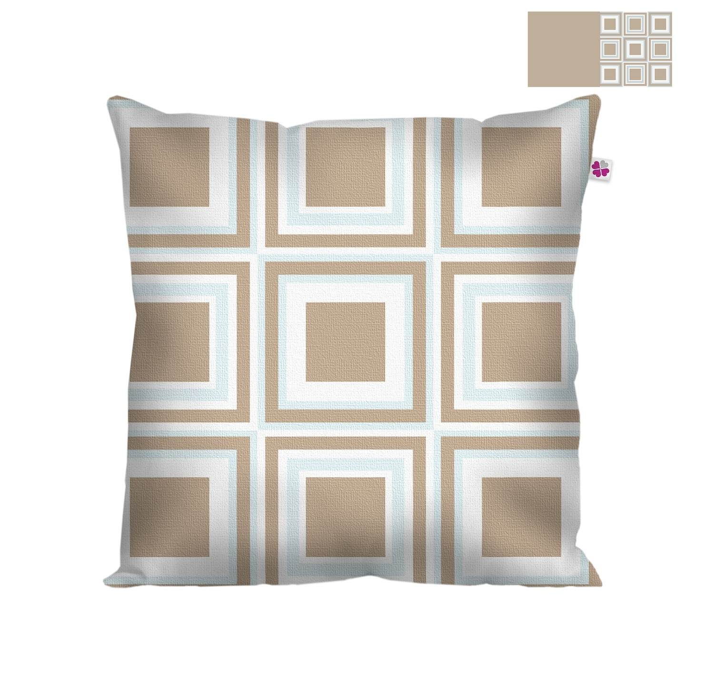 Декоративная подушка квадраты