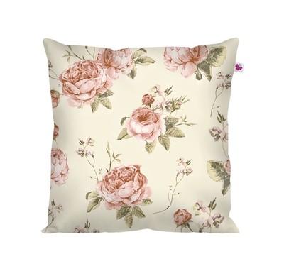 Декоративная подушка кремовая