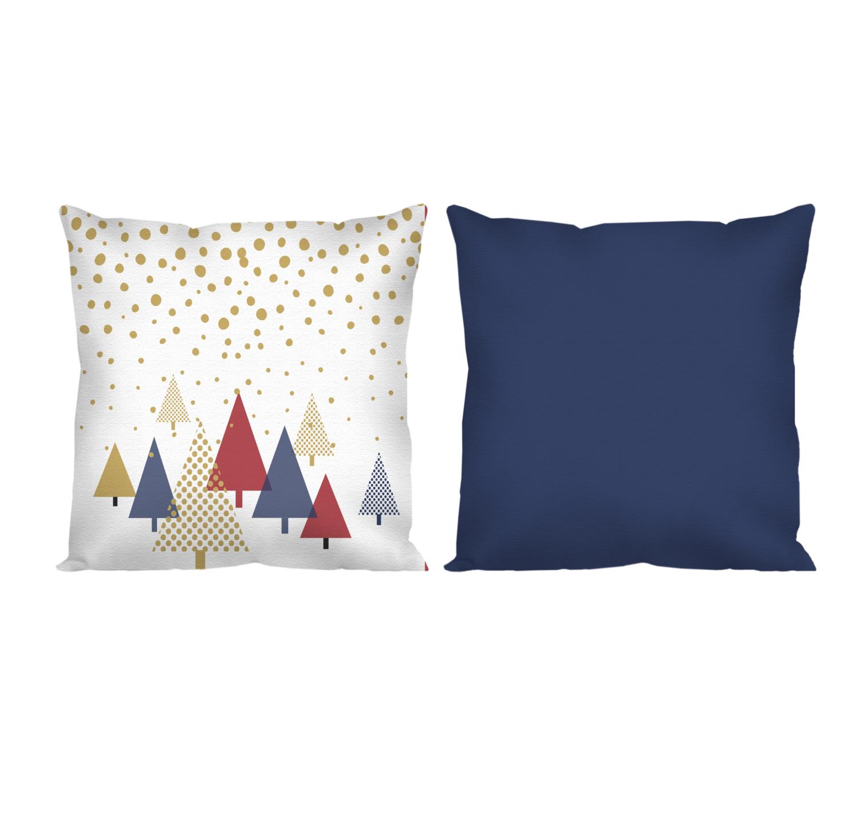 Декоративная подушка новогоднее небо