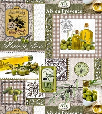 Клеенка ПВХ Оливковое масло