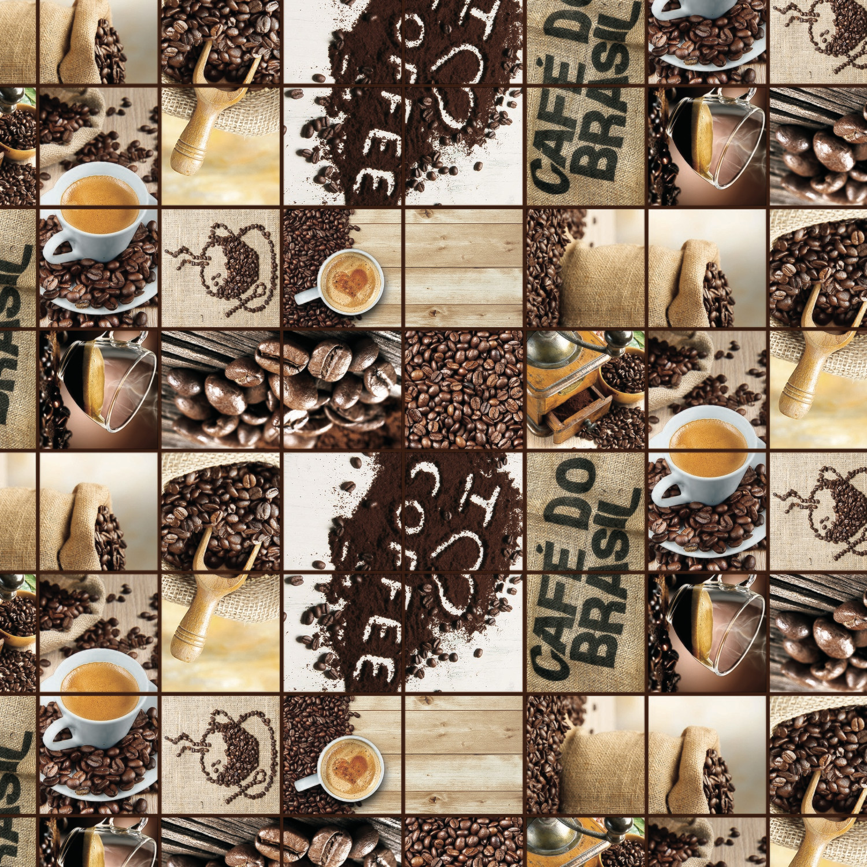 Клеенка ПВХ Кофе