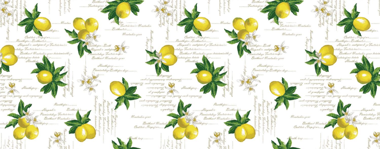 Клеенка ПВХ Лимоны