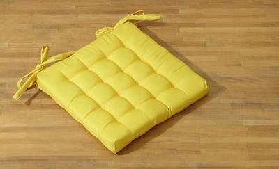 Подушка на стул ГОРЧИЦА