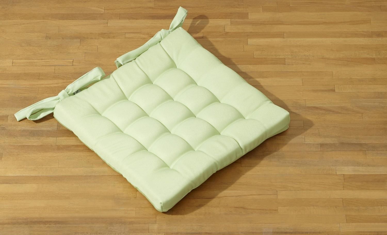 Подушка на стул ЛУГОВОЙ ГОРОШЕК