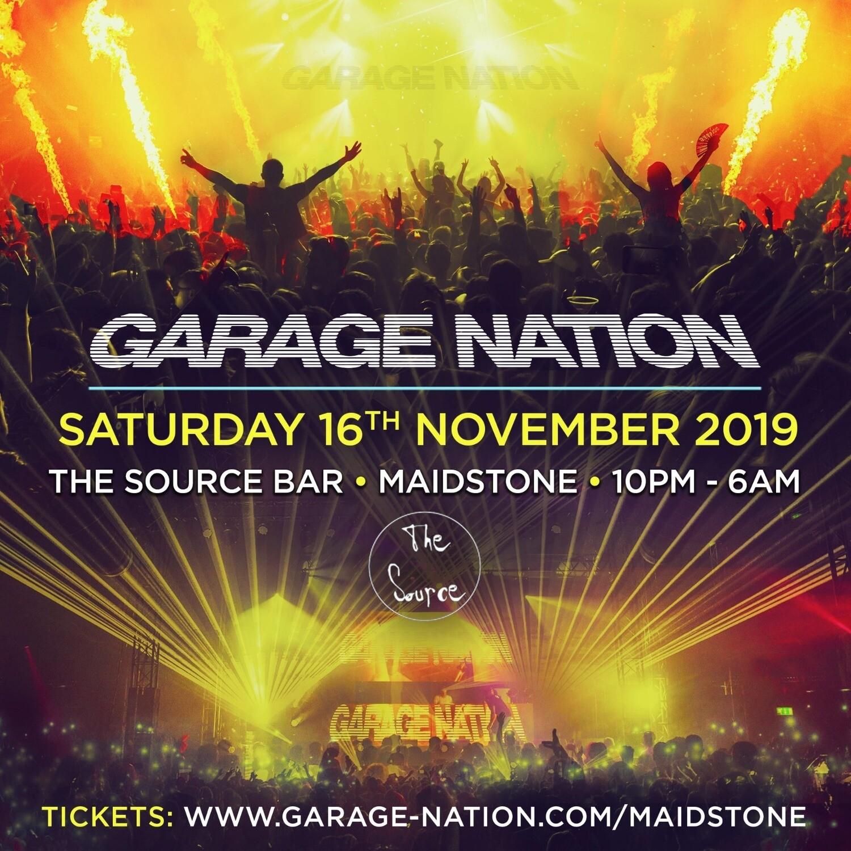 Saturday 16th November 2019 - Garage Nation Maidstone