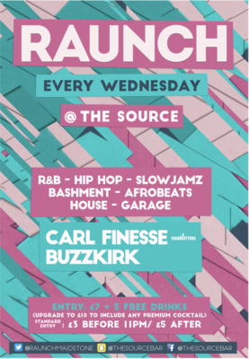 Wednesday 16th October 2019 - Raunch Wednesdays