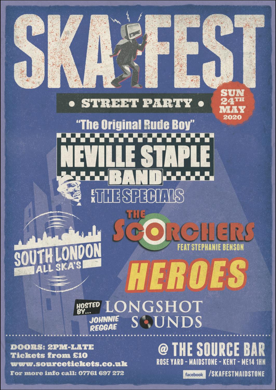 Sunday 24th May 2020 - SKA Fest