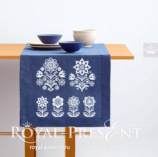 Traditional Scandinavian Embroidery Designs