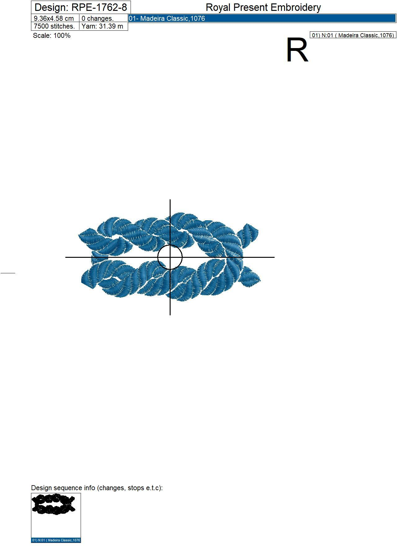 Nautical Rope Knots Machine Embroidery Designs
