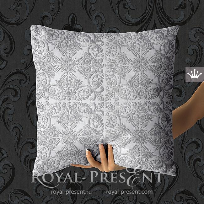 Retro style Machine embroidery design - 3 sizes RPE-1805