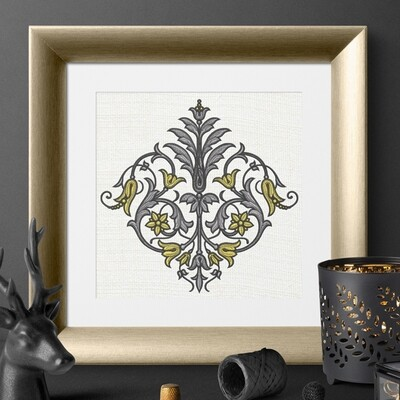 Royal Present Embroidery | Machine Embroidery Designs Online
