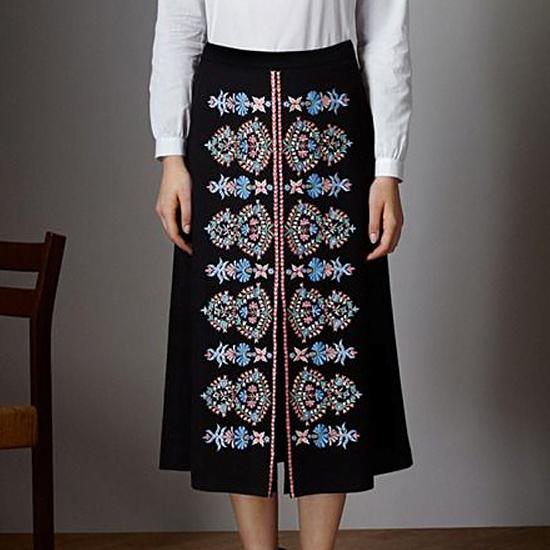 Machine Embroidery Designs Blue Folk ornaments RPE-135