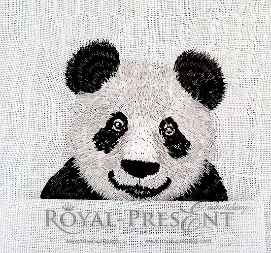 Machine Embroidery Design Pocket Panda RPE-1059