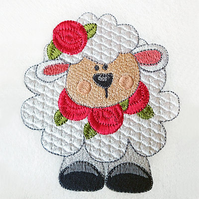 Machine Embroidery Designs Little Lamb - 2 sizes