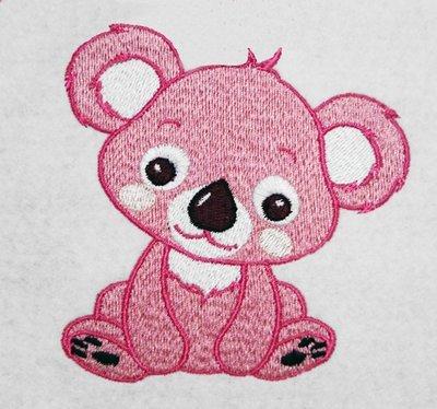 Machine Embroidery Design Cute Koala Bear