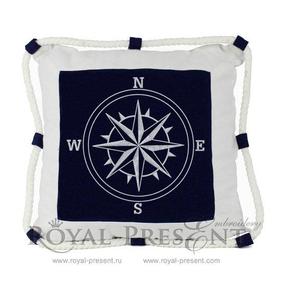 Machine Embroidery Design Rose of Wind RPE-430