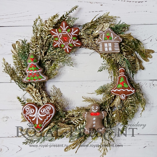 In The Hoop Machine Embroidery Designs Christmas Cookies