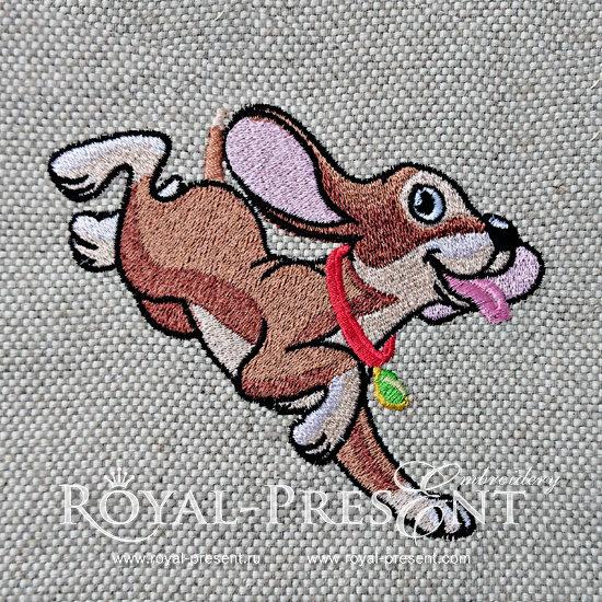 Machine Embroidery Designs Cute Fun Puppy - 3 sizes RPE-1222