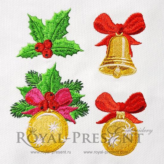 Christmas Machine Embroidery Designs RPE-1212