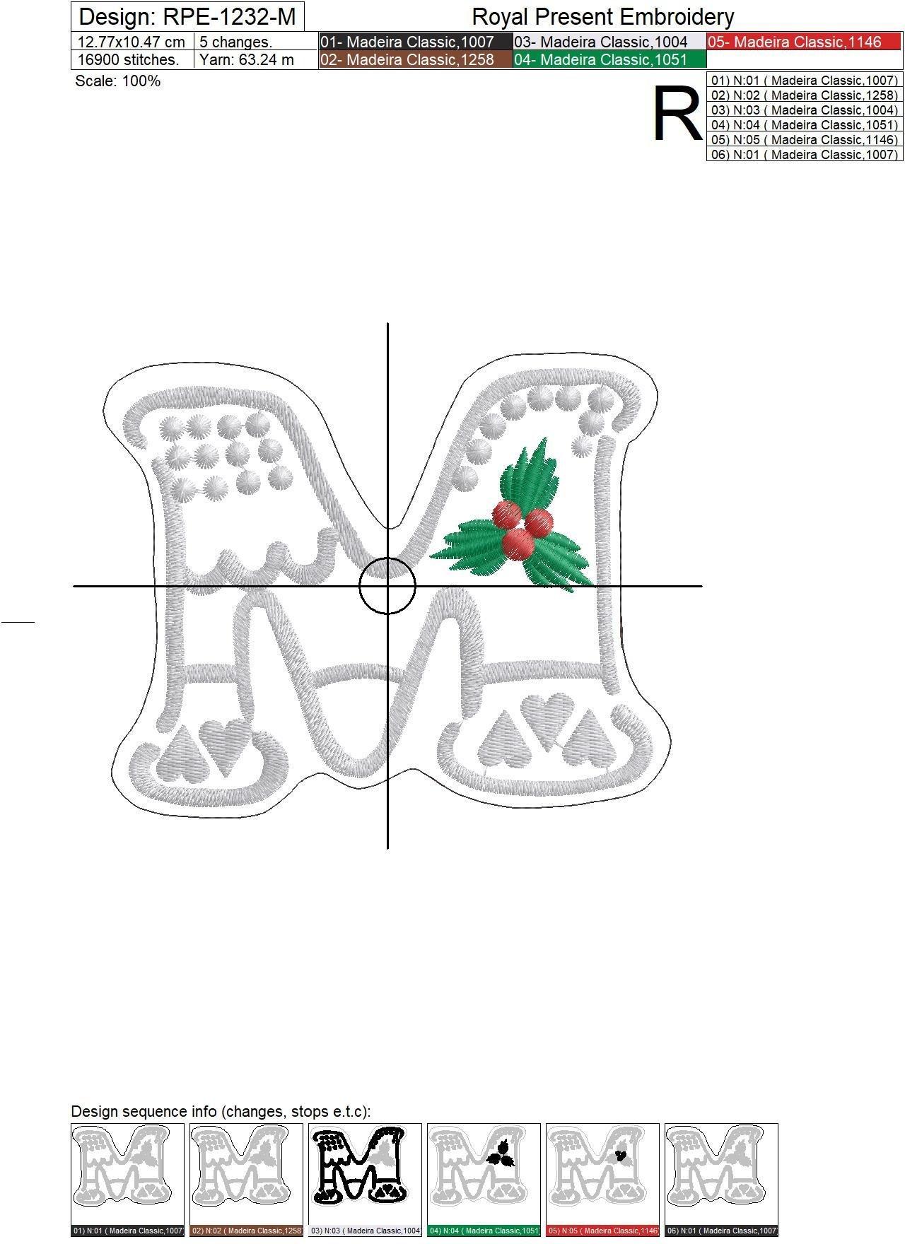 In The Hoop Machine Embroidery Designs Merry Christmas Cookies