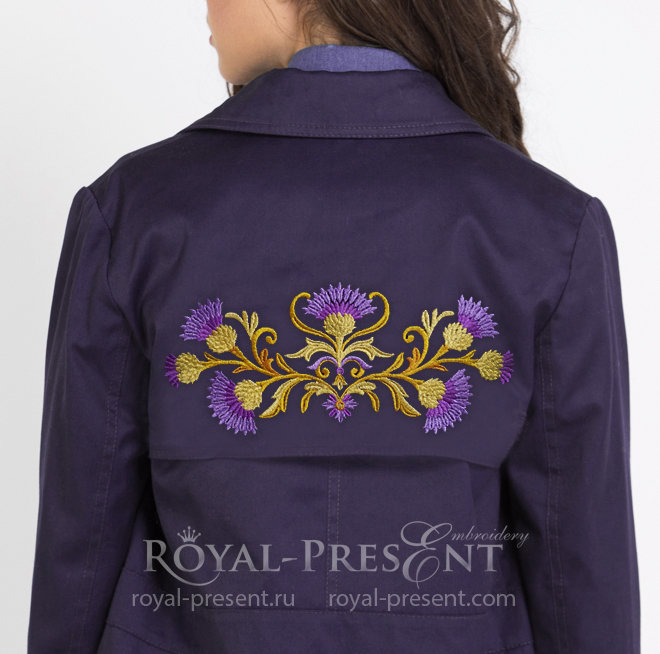 Free Machine Embroidery Designs Royal Present
