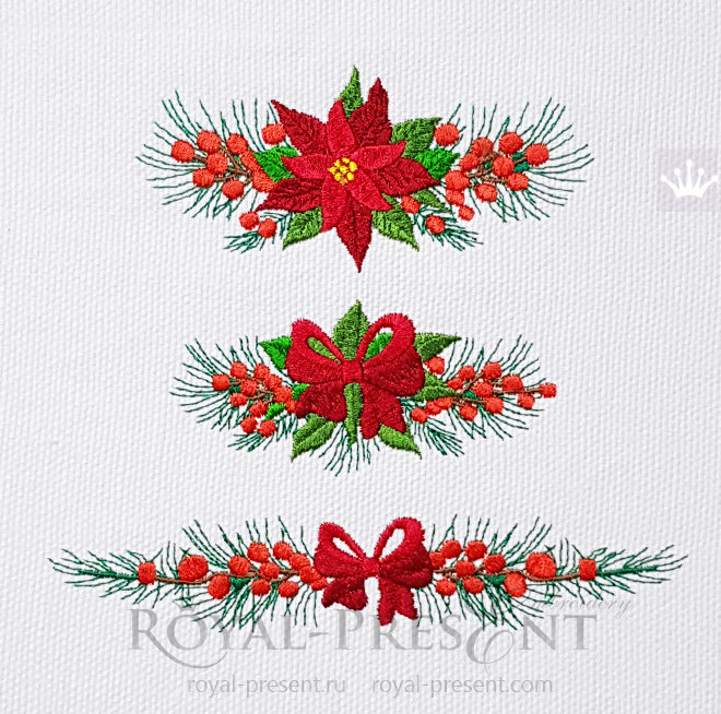 Christmas Borders Machine Embroidery Designs RPE-1470_7