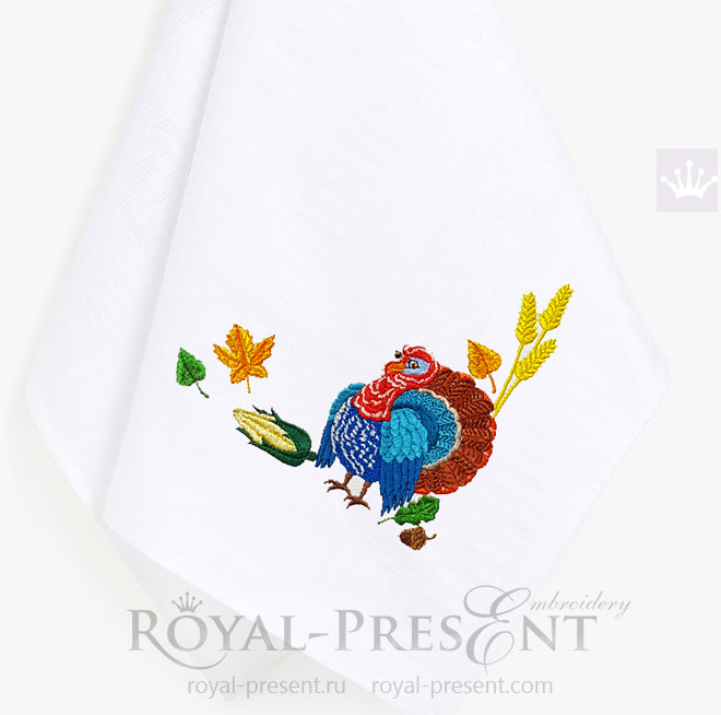 Happy Thanksgiving Machine Embroidery Designs Pack - 7 in 1 RPE-1473