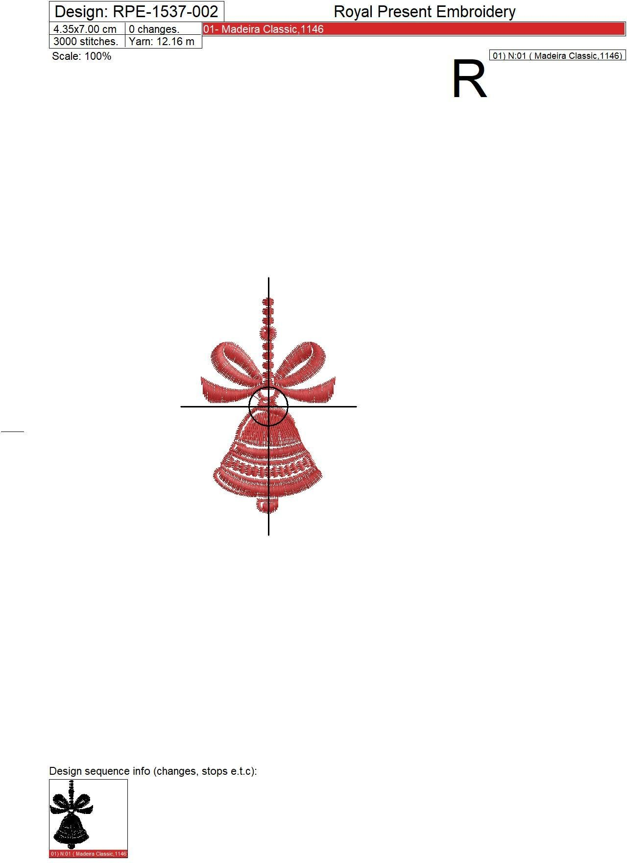 Christmas decorations Embroidery Designs Set - 3 in 1